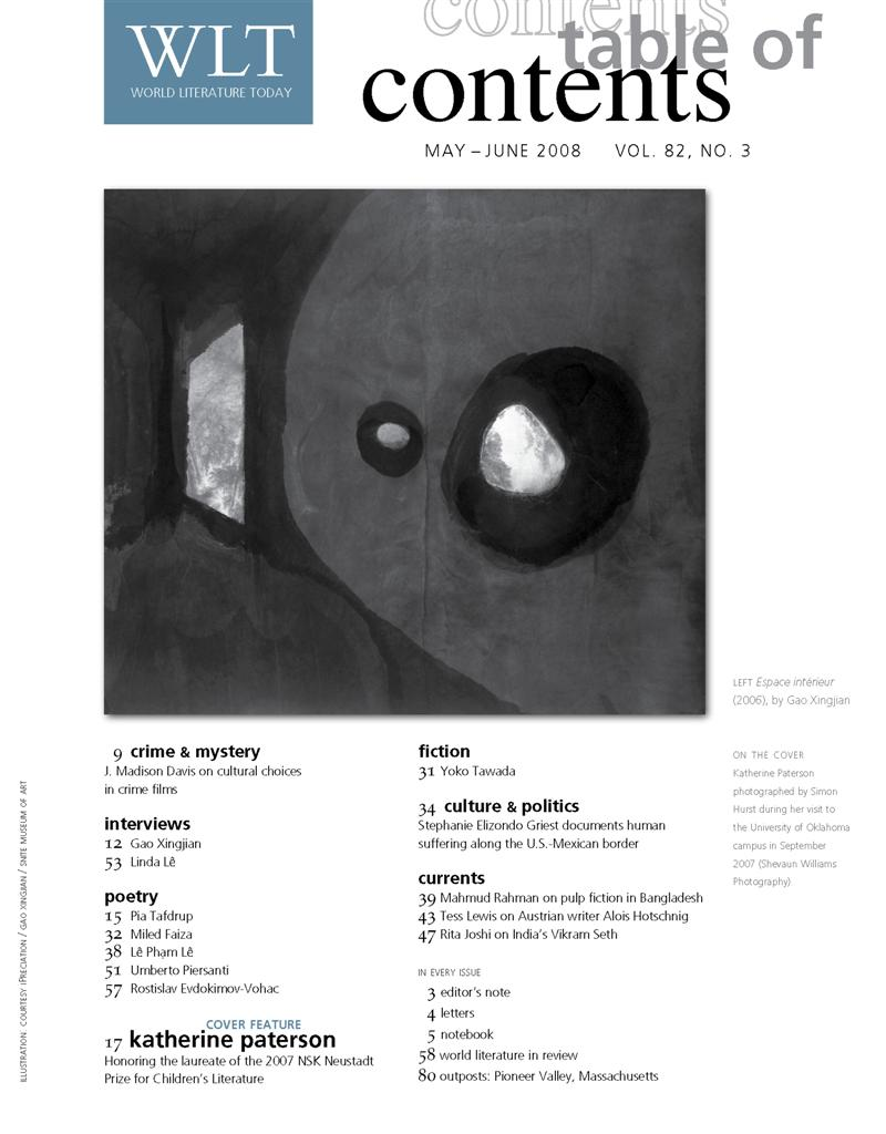 May 2008 Table of Contents