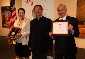 Han Shaogong at the University of Oklahoma