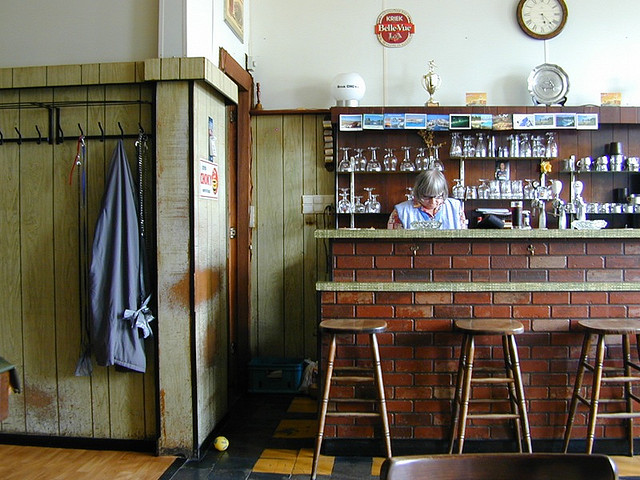 Bar in daylight
