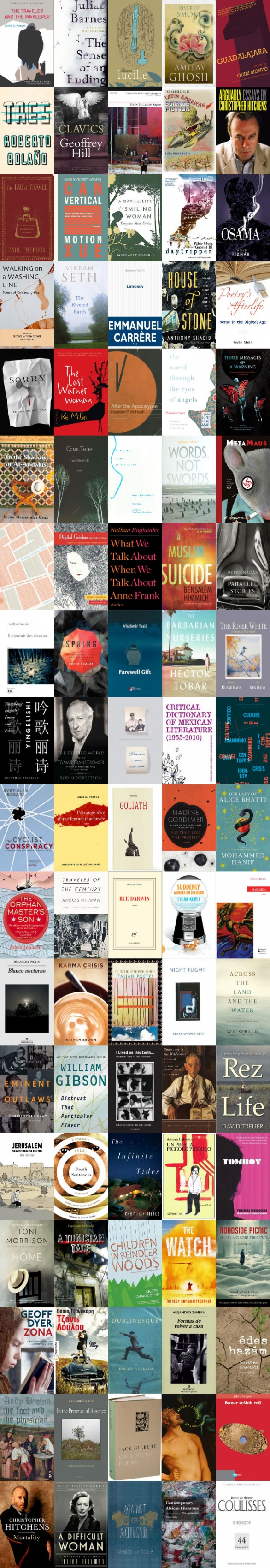 WLT Books Reviewed 2012