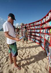Bondi Beach Bookshelves