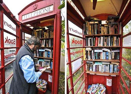 UK Phone Box Library