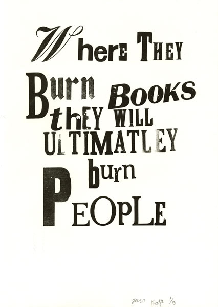 Where They Burn Books