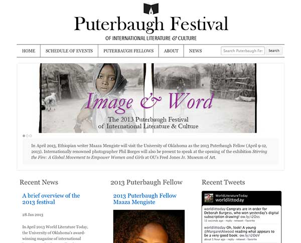 Puterbaugh Festival website