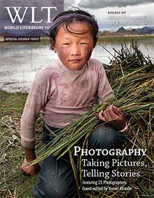 The March 2013 cover of WLT