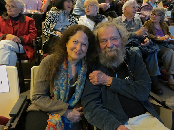 Jane Hirshfield and Donald Hall