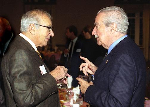 Alvaro Mutis and Walter Neustadt