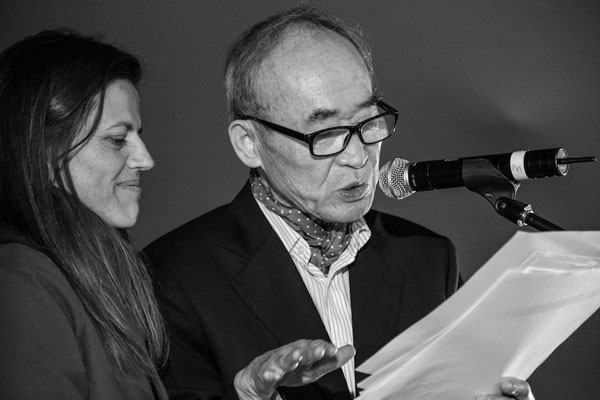Korean poet Ko Un. Photo by Retha Ferguson