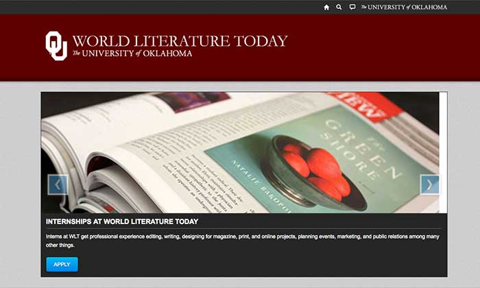 Student resources on the WLT OU website