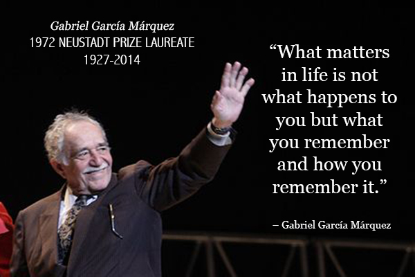 Tribute to Gabriel Garcia Marquez