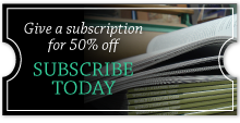 Holiday Offer: Give a subscription for 50% off
