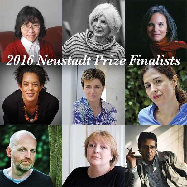 2016 Neustadt Prize Finalists