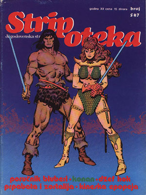 Stripoteka magazine cover