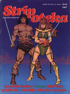 Stripoteka magazine cover