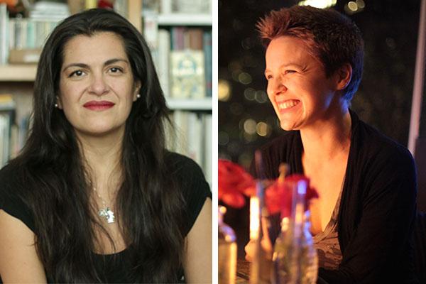 Rocío Cerón and Anna Rosenwong