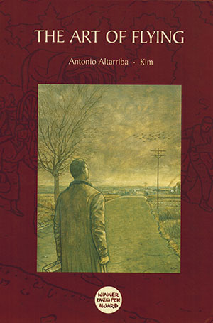 The cover to Antonio Altarriba's The Art of Flying