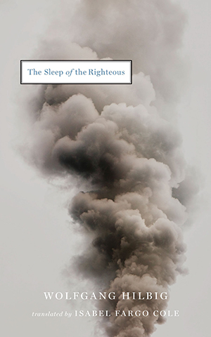 The cover to The Sleep of the Righteous by Wolfgang Hilbig