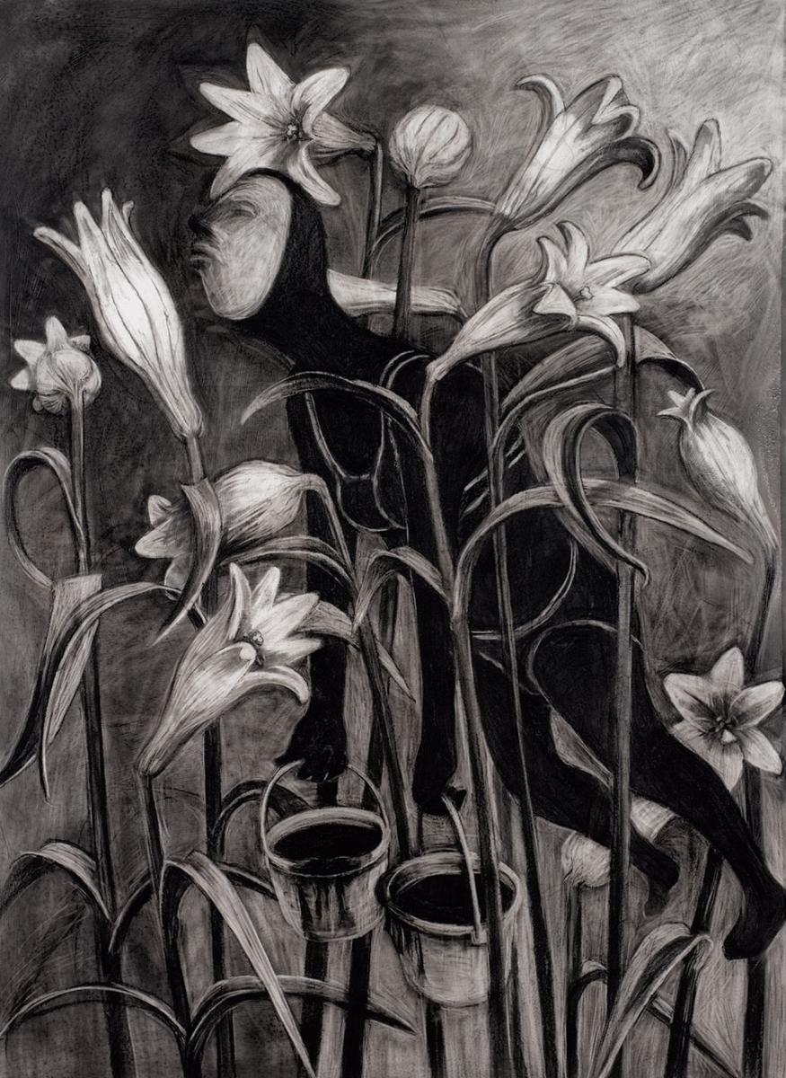 """Lillienwald"" (Forest of lilies), from wehwehwehsuperträne.de (Mamiverlag, 2009)"