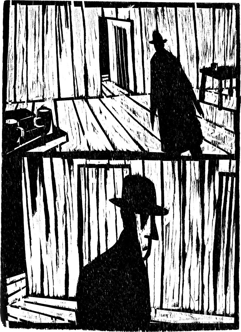 From Le Château, by Olivier Deprez (Frémok, 2003)