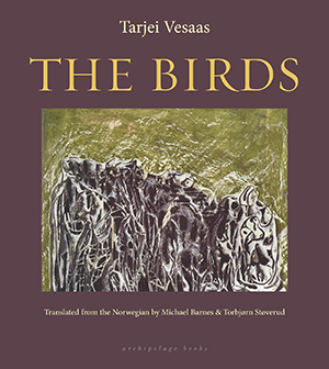 The cover to The Birds by Tarjei Vesaas