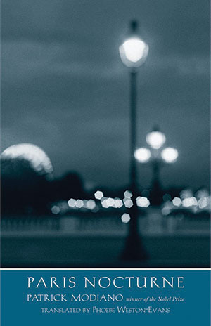The cover to Paris Nocturne by Patrick Modiano