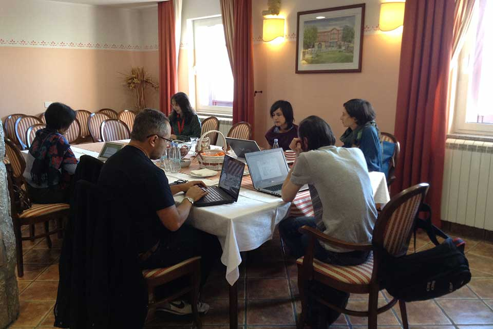 2015 Poetry Translation Workshop in Slovenia.