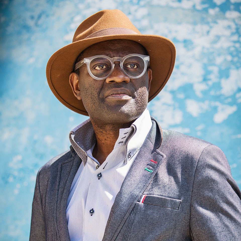 Alain Mabanckou. Photo by Shevaun Williams