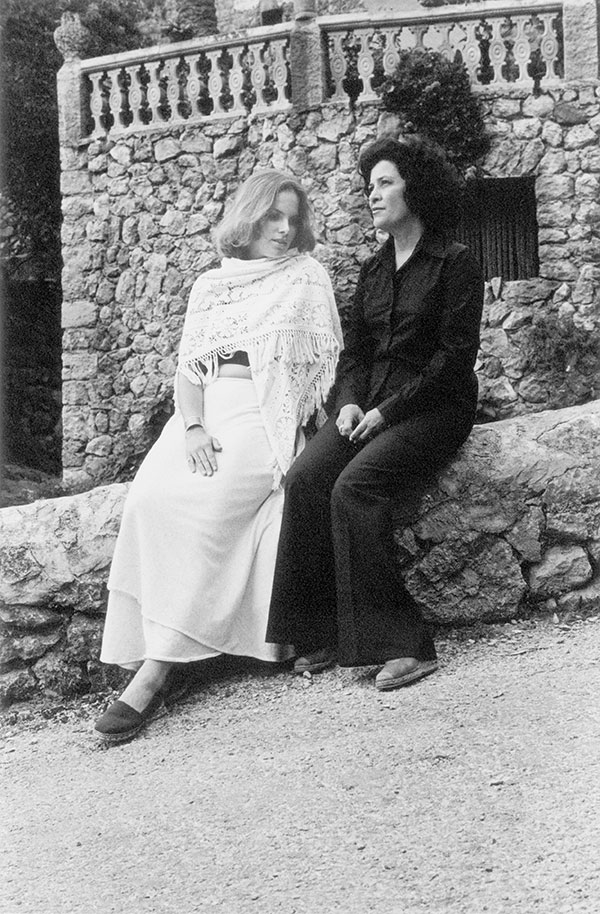 Carolyn Forché (left) and Claribel Alegría in Mallorca in 1977.
