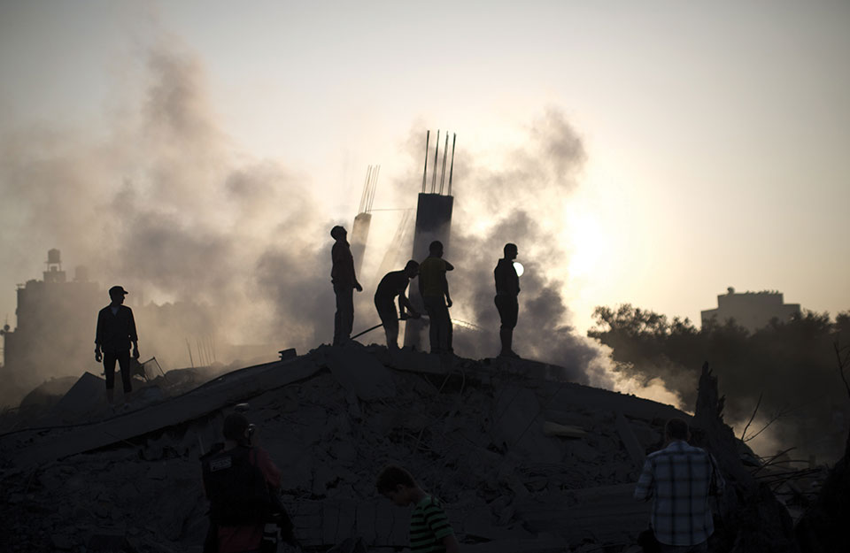 Gaza City. Photo: Getty / AFP photo / Mahmud Hams