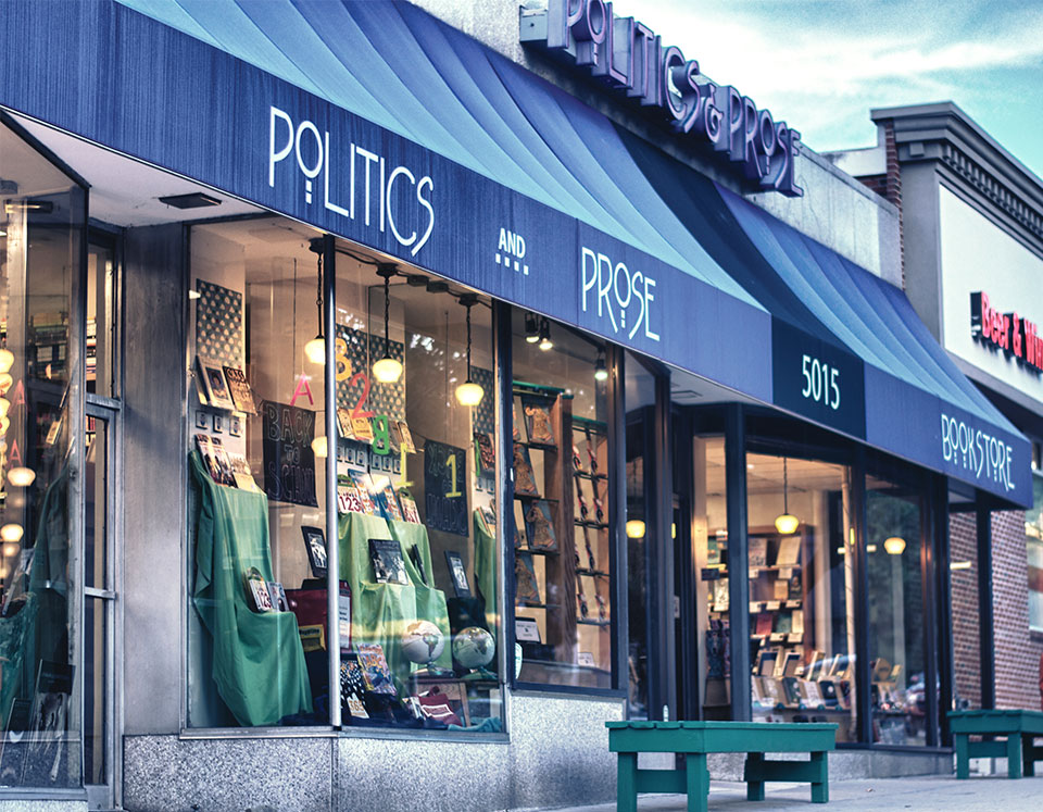 Politics and Prose bookshop