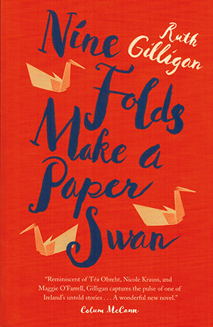 The cover to Nine Folds Make a Paper Swan by Ruth Gilligan