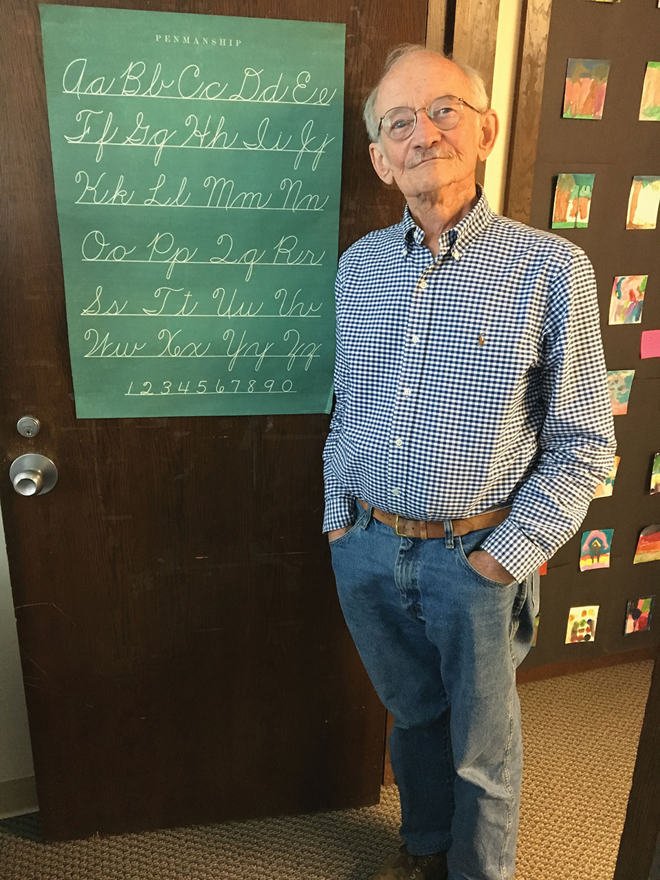 Ted Kooser. Photo by Daniel Simon