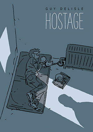 The cover to Hostage by Guy Delisle