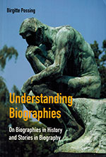 The cover to Understanding Biographies by Birgitte Possing