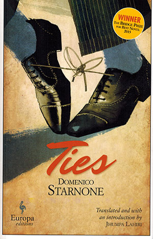 The cover to Ties by Domenico Starnone