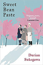 The cover to Sweet Bean Paste by Durian Sukegawa