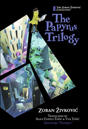 The cover to The Papyrus Trilogy by Zoran Živković