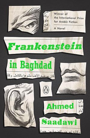 The cover to Frankenstein in Baghdad by Ahmed Saadawi