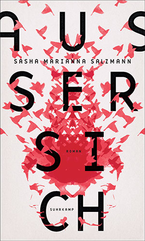 The cover to Ausser sich by Sasha Marianna Salzmann