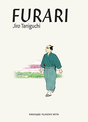 The cover to Furari by Jiro Taniguchi