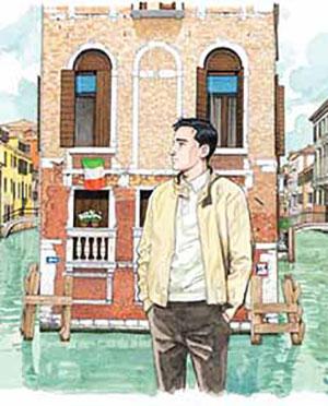 The cover to Venice by Jiro Taniguchi