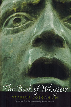 The cover to The Book of Whispers by Varujan Vosganian