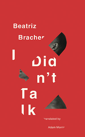 The cover to I Didn't Talk by Beatriz Bracher