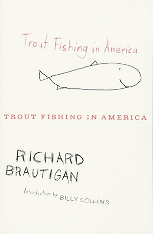 The cover to Brautigan's Trout Fishing in America