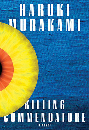 The cover to Killing Commendatore by Haruki Murakami