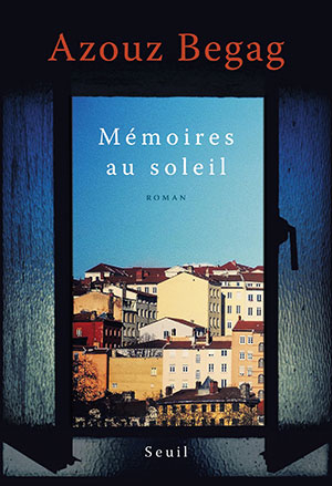 The cover to Mémoires au soleil by Azouz Begag