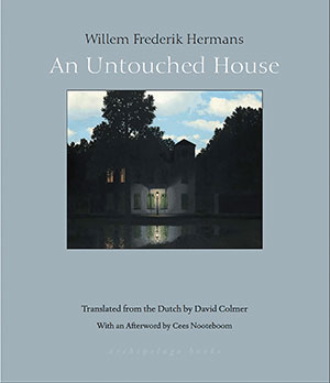 The cover to An Untouched House by Willem Frederik Hermans