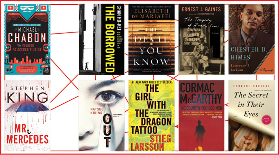 A collage of several book covers referenced in article below