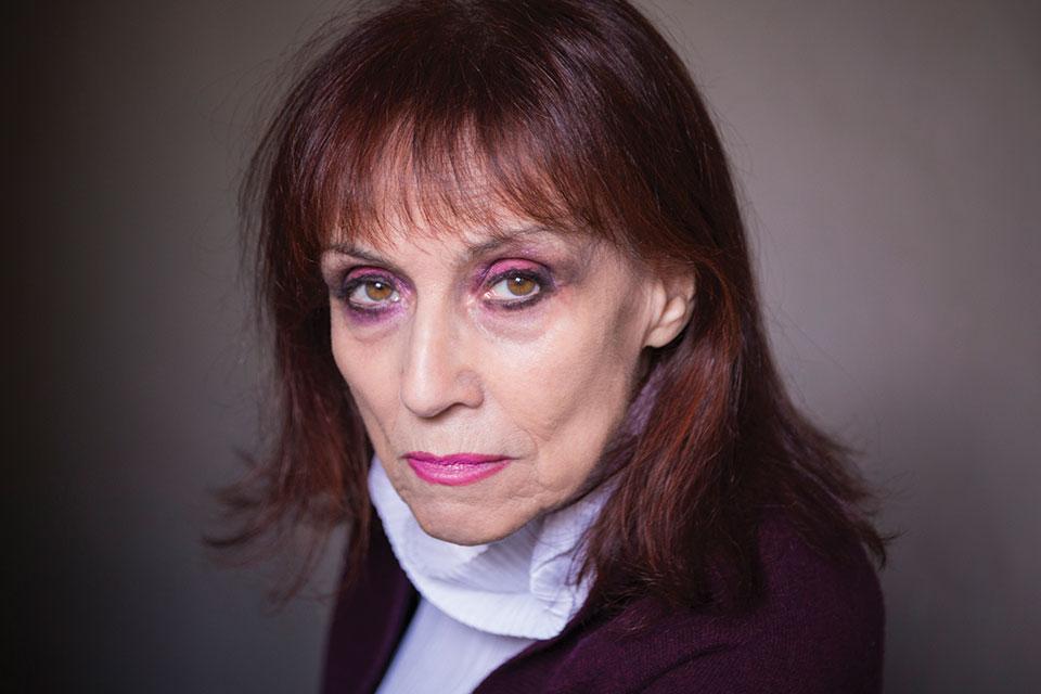 A photograph of Annie Le Brun