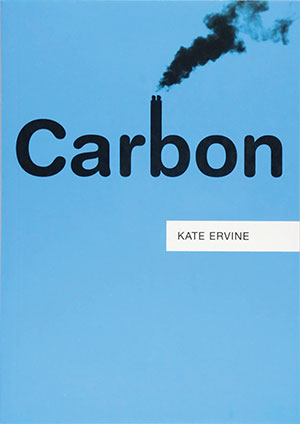 The cover to Carbon by Kate Ervine
